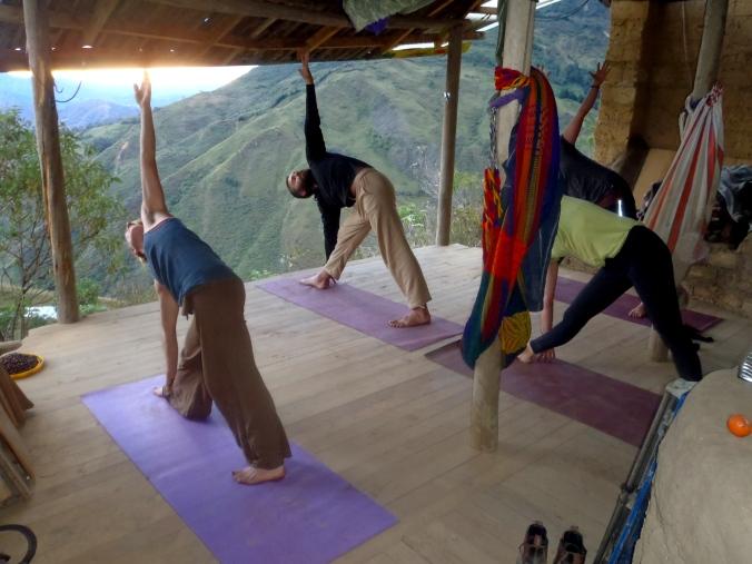 5 o'clock yoga!!